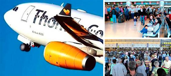 Unos 30.000 clientes afectados en Canarias por la quiebra de Thomas Cook