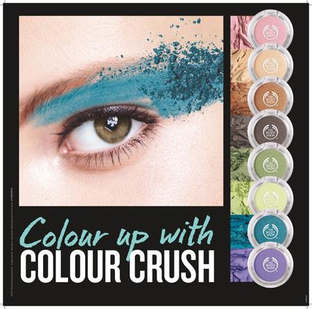 Color Crush eye shadows by The Body Shop