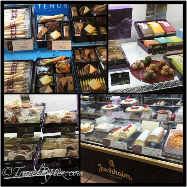 Pastries, cookies, mochi etc...