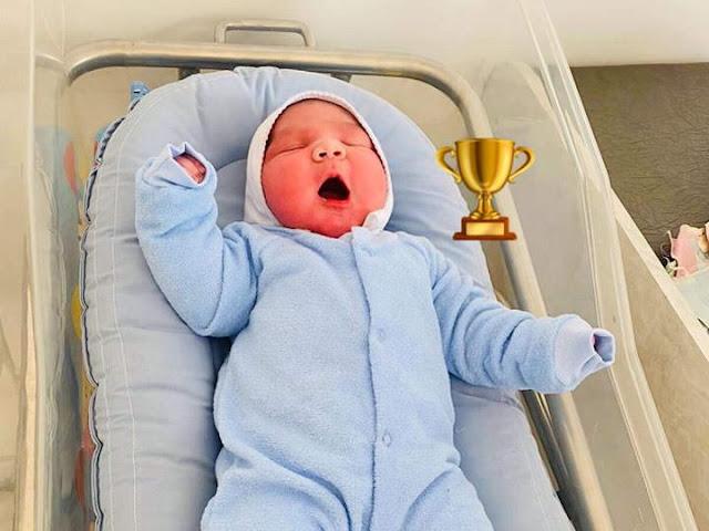 Bebé gigante nacido en Armenia (FOTO)