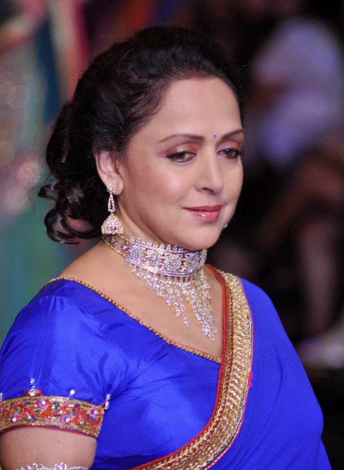 latest pics of hema malini