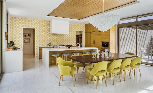 แบบห้องครัวและส่วนรับประทานอาหาร