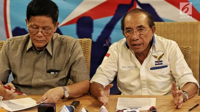 Max Sopacua Cs Minta Demokrat Konsisten Dukung Perjuangan Prabowo-Sandi di MK