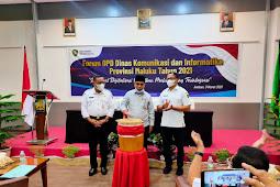 Kasrul Selang Buka Forum Organisasi Perangkat Daerah (OPD) Tahun 2021 di Maluku