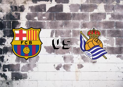 FC Barcelona vs Real Sociedad  Resumen y Partido Completo
