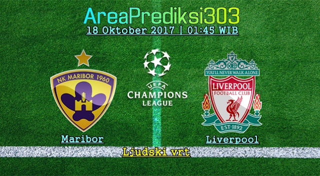 Prediksi Jitu Maribor vs Liverpool 18 Oktober 2017