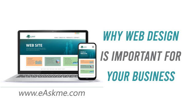 Why Web Design Is Important For Your Business Easkme How To Ask Me Anything Learn Blogging Online