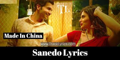sanedo-lyrics