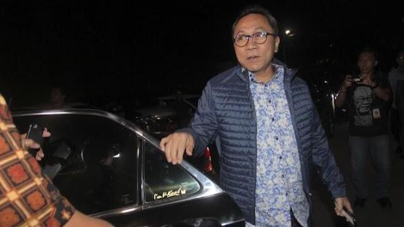 Zulkifli Hasan Temui Jokowi di Istana