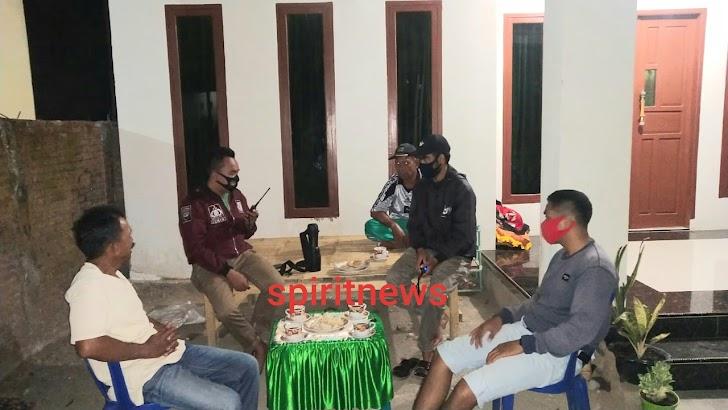 Bhabinkamtibmas Desa Popo Polsek Galsel Kordinasi Dengan Kader Keamanan, Ini Pesannya
