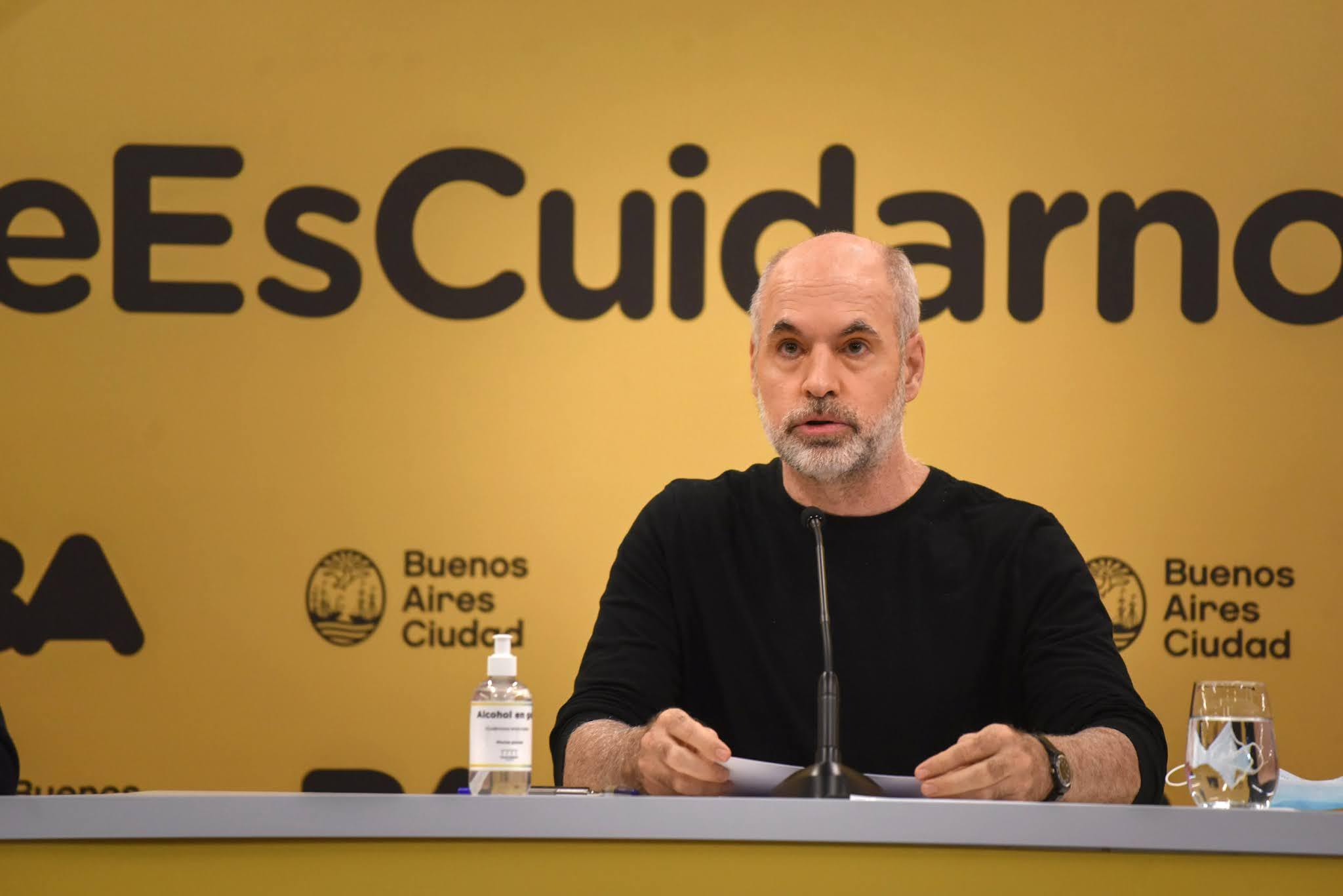 La Legislatura autorizó a Rodríguez Larreta a comprar vacunas contra el coronavirus
