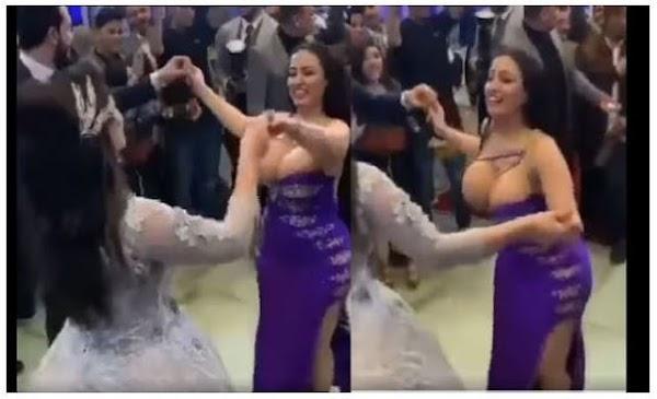 Surge #ladypera Invitada le roba el show a su mejor amiga en su boda; tenia unos enormes sentimientos