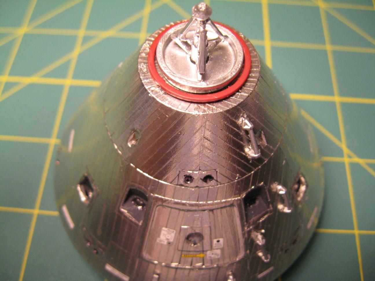 Ohio Valley Spaceport: Building Dragon's 1/48 Apollo CSM ...