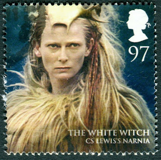 2011 GB 97p Used. The White Witch from C S Lewis Narnia
