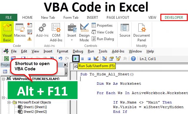 Useful VBA code collection