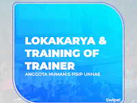 Training of Trainer dan Lokakarya HUMANIS FISIP UNHAS Periode 2021-2022