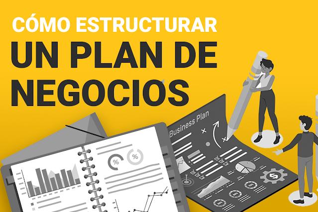 estructura de un plan de negocios ganador