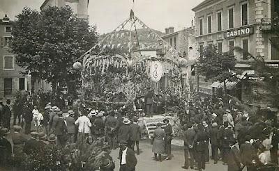 CPA foire de Billom Auvergne