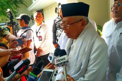 Ma'ruf Amin Sebut Khilafah Itu Islami, Tapi Mengancam NKRI-Pancasila