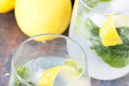 Lemon Basil Gin And Tonic