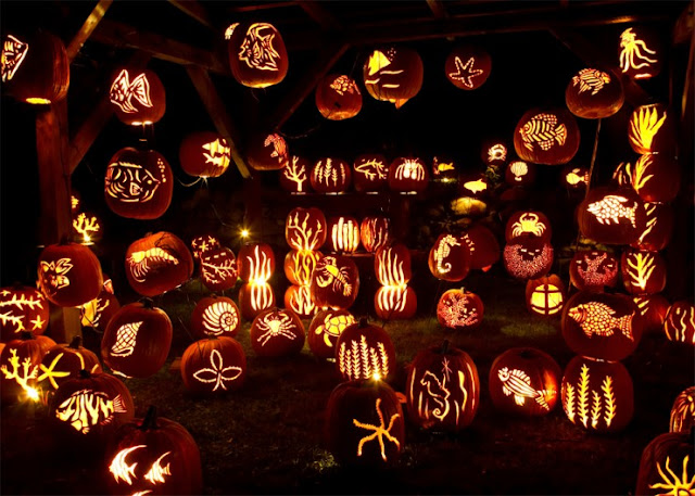 The Great Jack'O Lantern Blaze, Sleepy Hollow, New York, Amerika Serikat