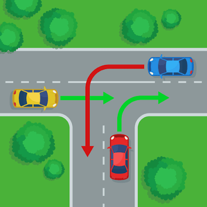 ما هي انواع العلامات المرورية ؟