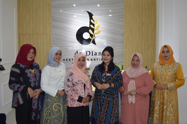 Cabang Klinik Kecantikan Milik dr Dian Istri Dari Dandenpom II/3 Telak Resmi Didirikan