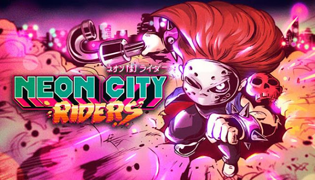 Neon City Riders take on the role of Rick, an avenger in a hockey mask who needs to explore the criminal futuristic Neon City in search of items