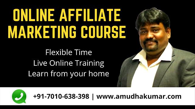 Online Affiliate Marketing Course | Online Affiliate Marketing Training Institute