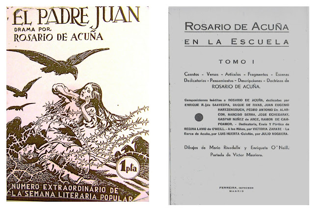 Dos de la ediciones realizadas por Regina Lamo Jiménez