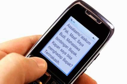 6 ETIKA MENGIRIM SMS KE DOSEN & GURU