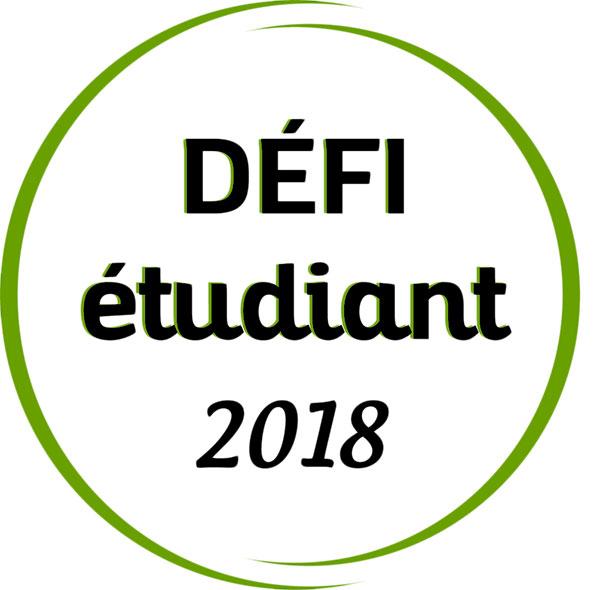 Logo du Défi étudiant 2018