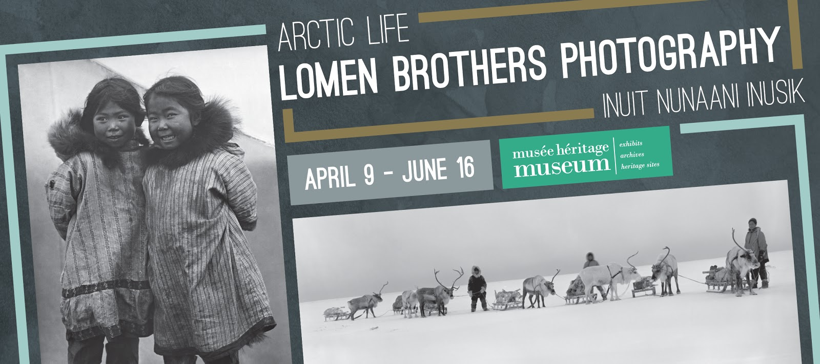 New exhibit at the museum, Arctic Life: Lomen Brothers