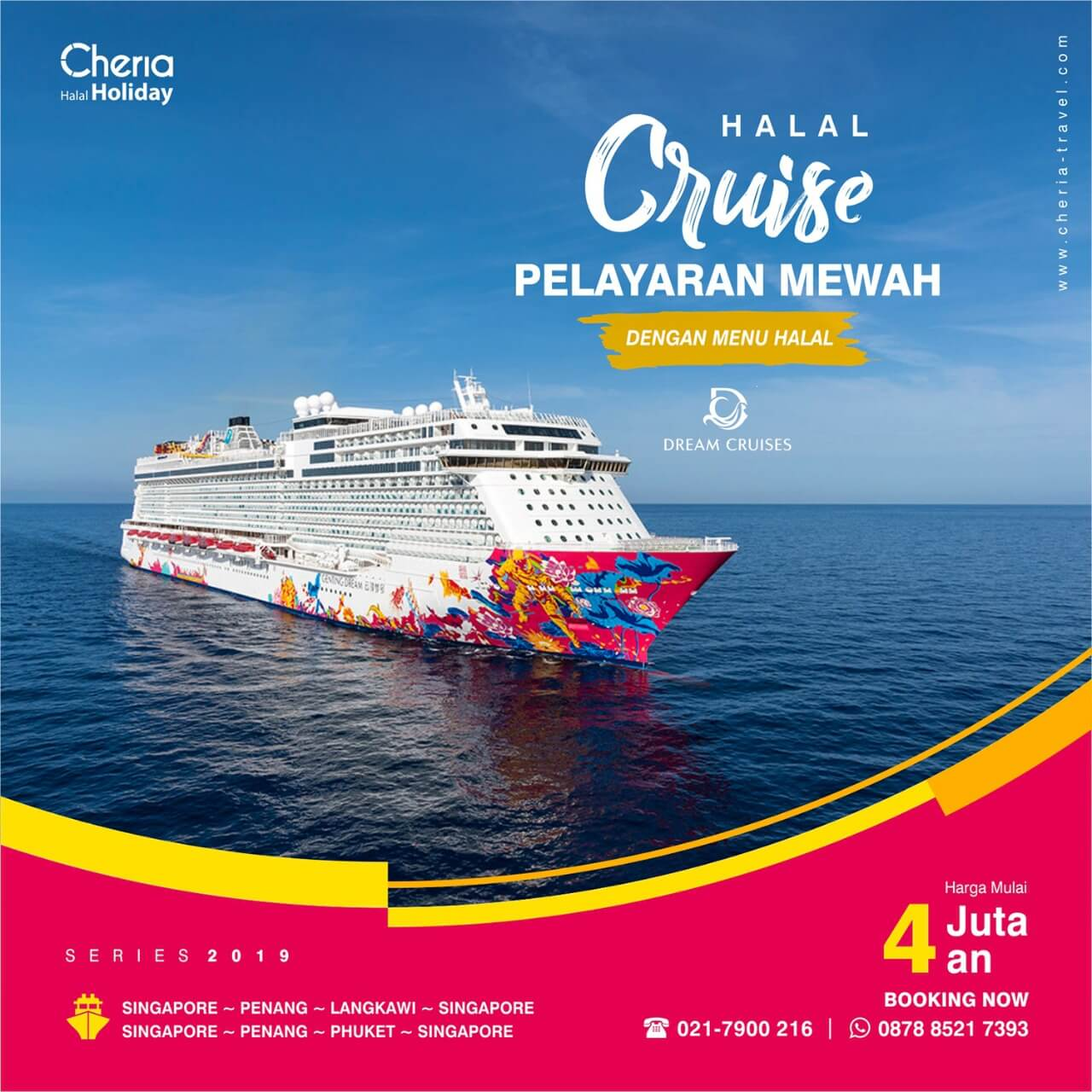 Paket Tour Halal Cruise Cheria Holiday