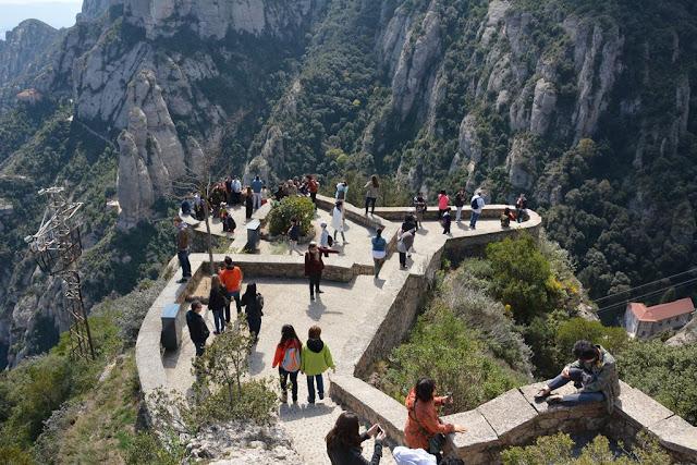 Montserrat viewing platform