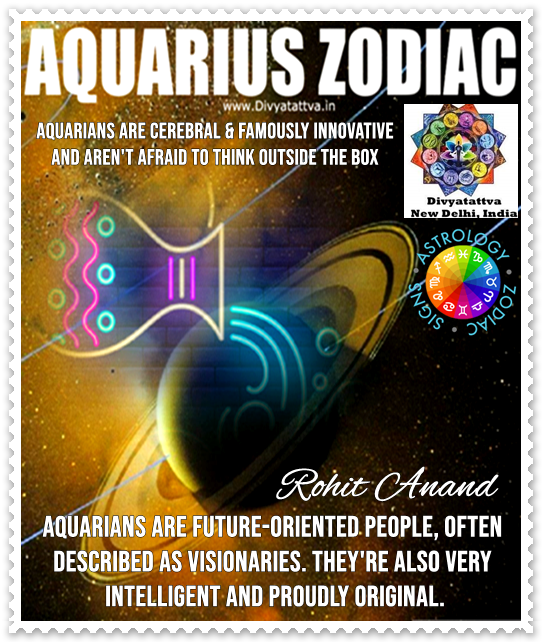 Aquarius Season Kumbha Rashi Today, Aquarius Star Sign,  Horoscope Personality Traits, Nature and Secrets Revealed