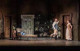 Mozart: Le nozze di Figaro - Wallis Giunta, Toby Girling, Ellie Laugharne - The Grange Festival 2019 (Photo Clive Barda)