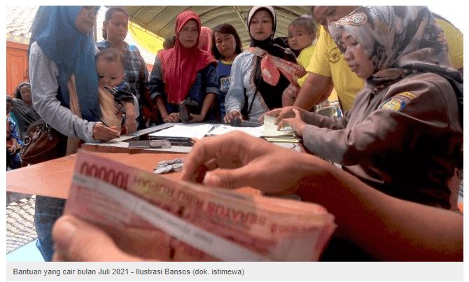 KABAR BAIK...! 5 Bantuan yang Cair Bulan Juli 2021 dan Cara Cek Penerimanya