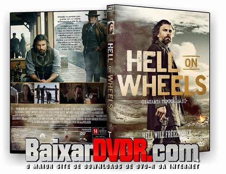 Hell On Wheels – 4ª Temporada Completa (2016) DVD-R AUTORADO