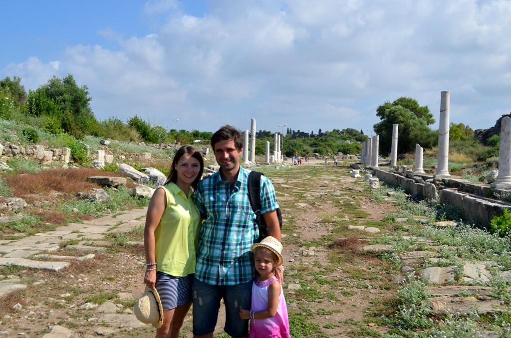 Nasze wielkie tureckie wakacje cz. II- Side i Manavgat