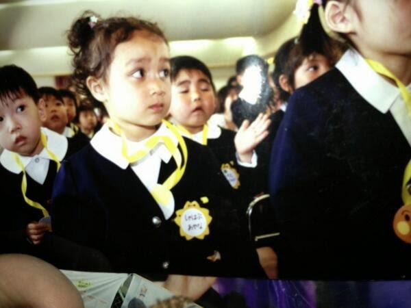 Ayana Shahab saat masih kecil