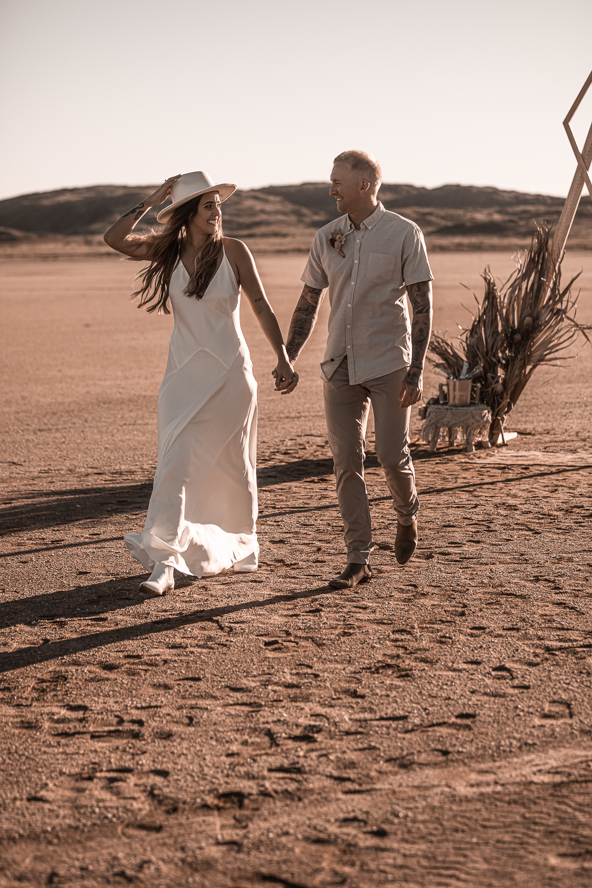 two unique photography and film weddings florals styling karratha wa