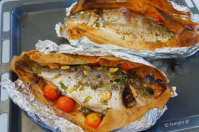 how to bake fish in aluminum foil