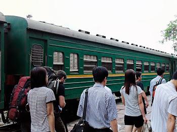 Trains to Sapa
