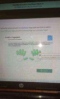 Npower Batch C Biometric Fingerprint Capturing
