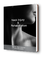 blog picture of lady head turned with neck injury