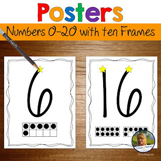 Number Book 0-20 by Teach Magically
