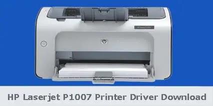 HP Laserjet P1007 Printer Driver Software Download