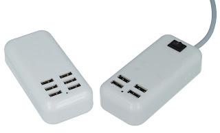 Mega Combo ładowarka USB z Biedronki 5V 2,5A 1,5A