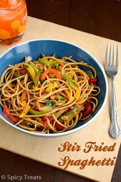 Stir Fried Spaghetti Recipe